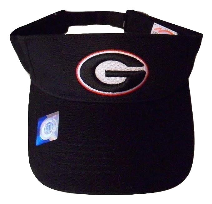 381c233fdc6 Amazon.com  Georgia Bulldogs Adjustable Logo Visor