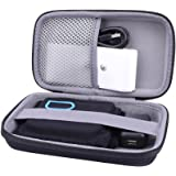 Hard Storage Travel Orgainzer Case for Quell Wearable Pain Relief Starter Kit fits Electrodes by Aenllosi (black)