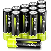 Deals on 12PK RayHom AA Rechargeable Batteries 2800mah Battery