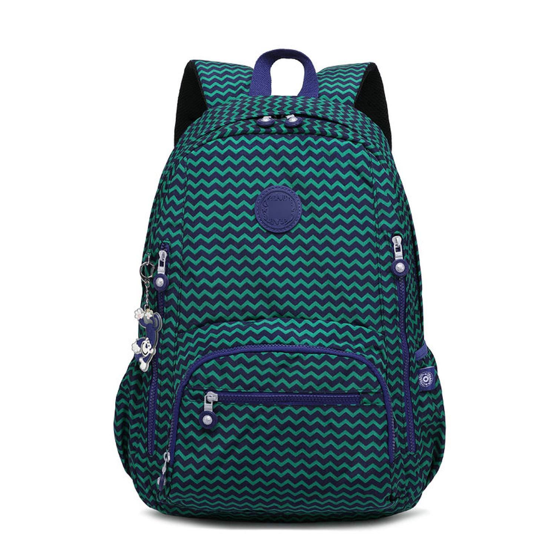 Backpack Printing Teenage Girls Shoulder Travel Bags Nylon Waterproof Laptop Bagpack,992-02,33CMX16CMX47CM