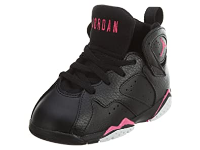 a44f17abe2ab86 Jordan 7 Retro GT Infants Toddlers Shoes Black Hyper Pink 705418-018 (