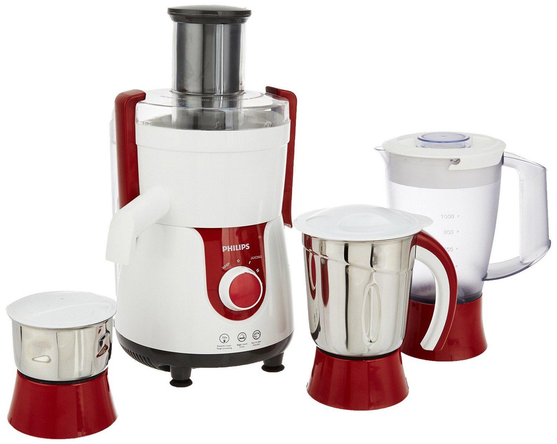 Philips Viva HL7715 700-Watt Juicer Mixer Grinder with 3 Jars