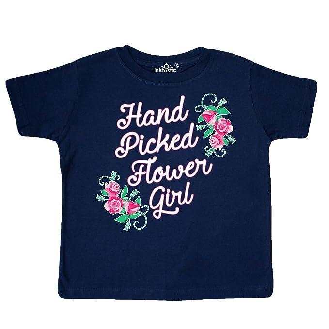 inktastic Handpicked Flower Girl for Wedding Toddler T-Shirt