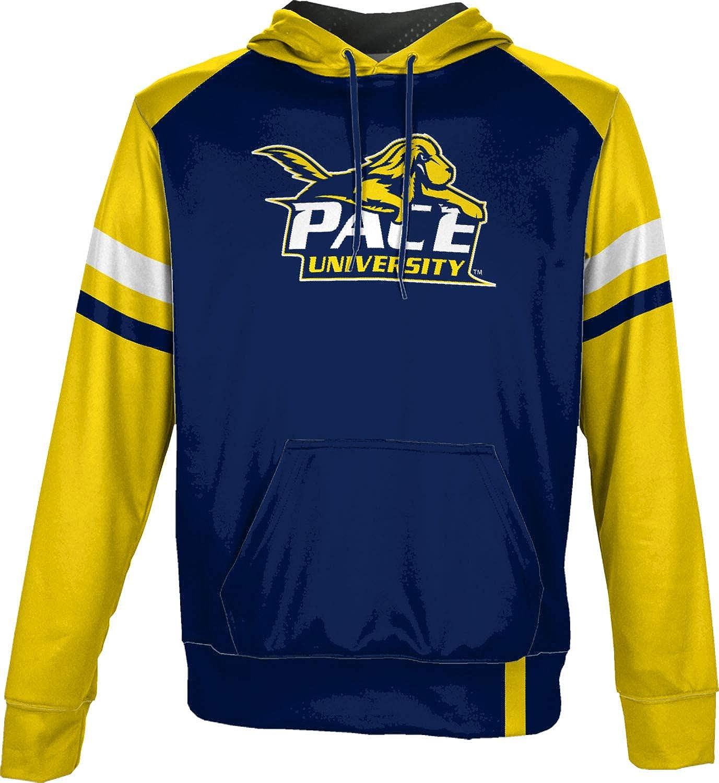 Old School School Spirit Sweatshirt ProSphere Pace University Mens Pullover Hoodie
