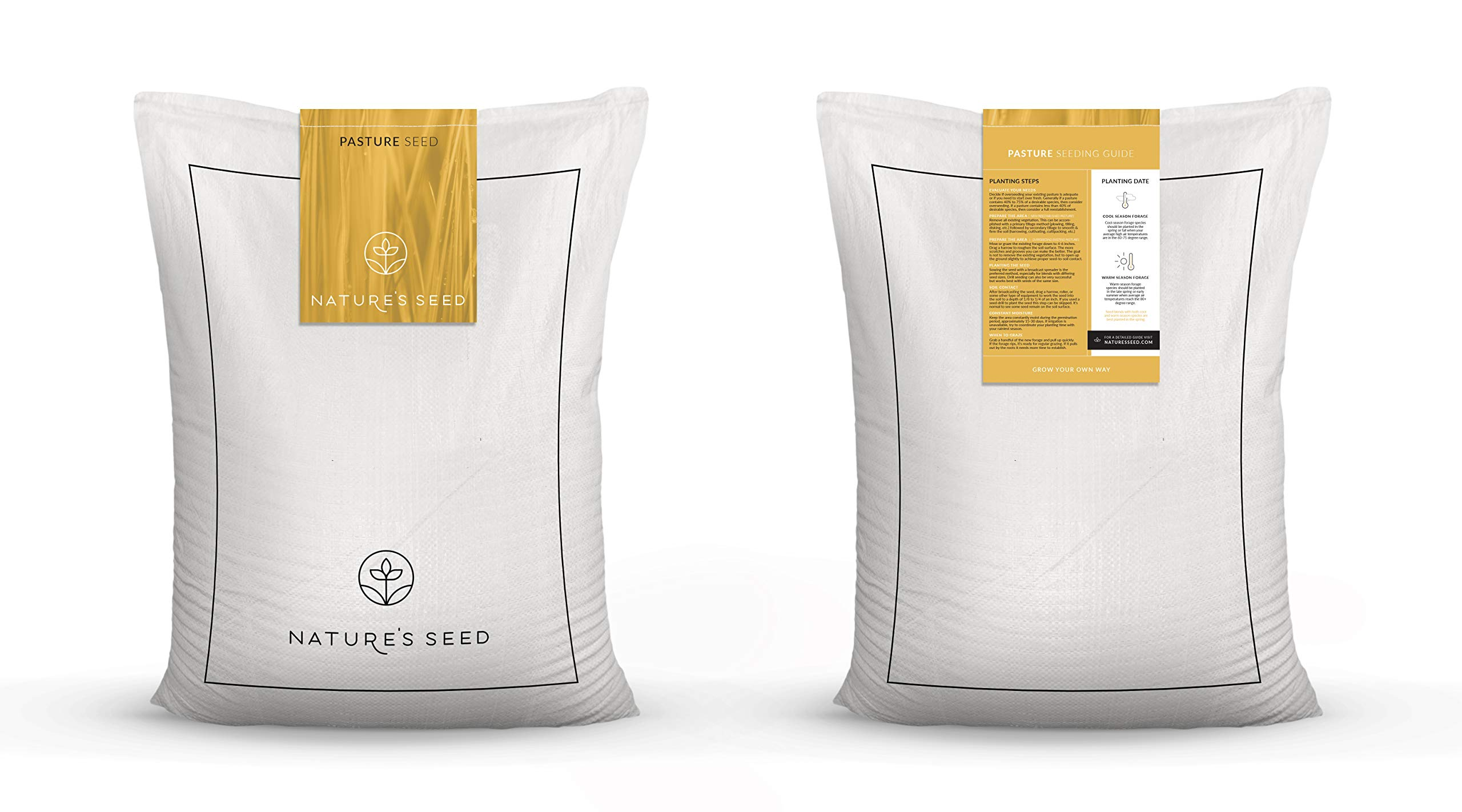 Pacific Southwest Horse Pasture Seed (2.5 Acre) by Nature's Seed