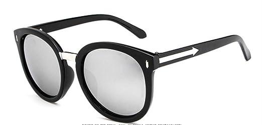 Wer Bin Ich Frau UvSonnenbrille Gläser Große Kiste Retro Multi-color Optional Fahr,BrightBlackColorfulSilver
