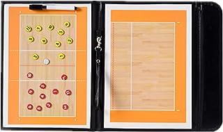 Wenhaoyu Housse imperméable pliable volleyball Coach pour arbitre, Entraîneur pour coach de volley-ball, volley-ball Tableau tactique avec 2en 1stylo