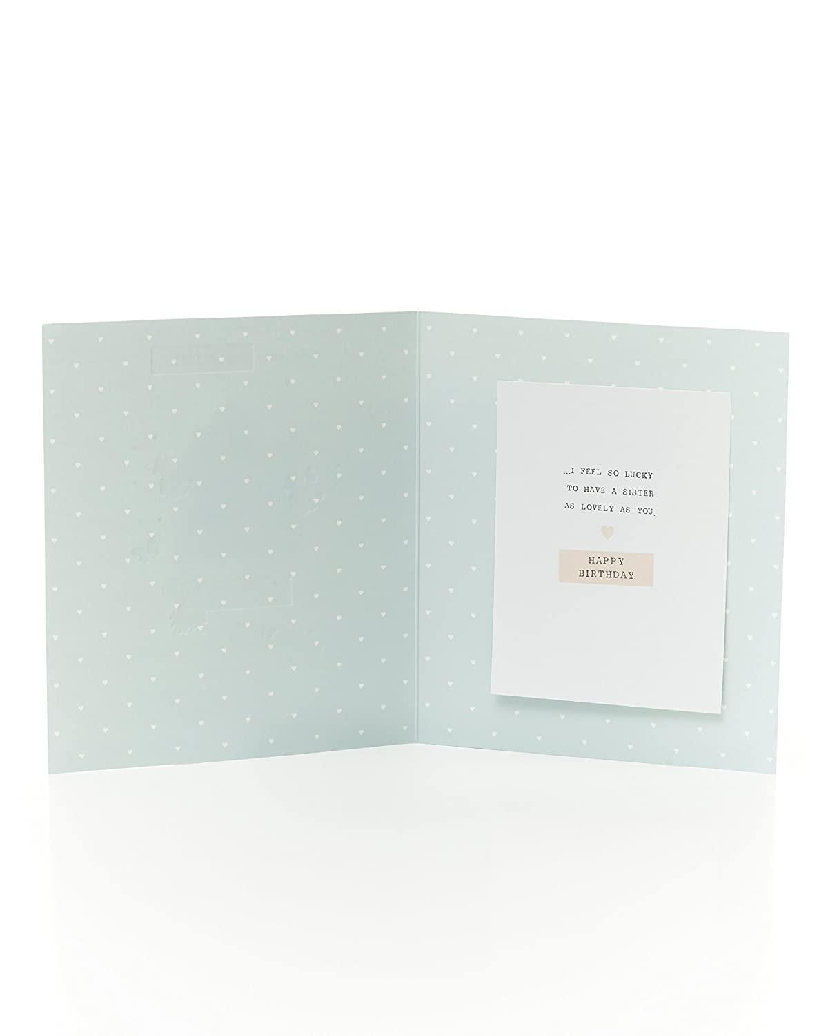Pretty Sister Birthday card/ /for you Sister