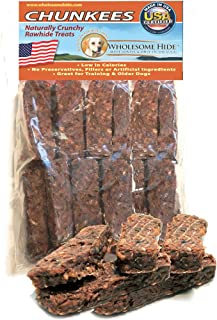product image for Wholesome Hide Dog/Puppy Treats/Chews - 1 lb. Bag of Ribs