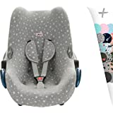 Housse Maxi-Cosi Cabriofix, Citi, Streety Fix, Inglesina, Jané Koos Couverture + Harnais de Protection White Star by JANABEBÉ