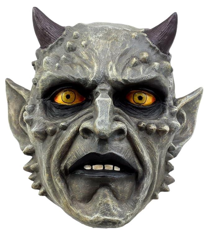 Alchemy Gothic Satan Schädel Luzifer Teufel Totenkopf Crimson Demon Skull