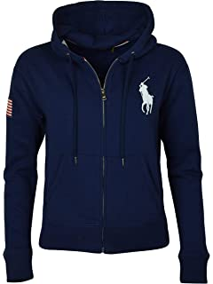 0a41e067280df1 Polo Ralph Lauren Womens Fleece Pullover Sweatshirt at Amazon ...