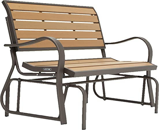 Lifetime 60055 Outdoor Glider - The Most Durable Outdoor Glider Bench