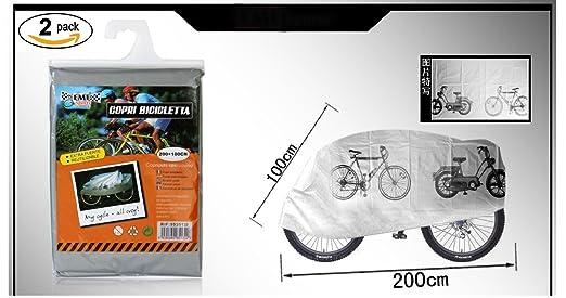 5 opinioni per Ducomi® Telo copribicicletta protettivo impermeabile per biciclette e biciclette