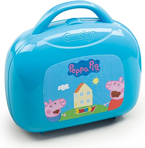 Maletín mini cocina de Peppa Pig con 16 accesorios (Smoby 310602 ...