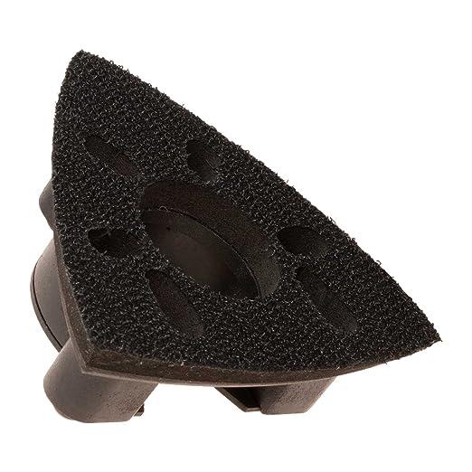 2 KROP Multifunci/ón Almohadilla de Triangular Lijar de Liberaci/ón R/ápida de 78/mm para DeWalt Black /& Decker Stanely FatMax y m/ás.