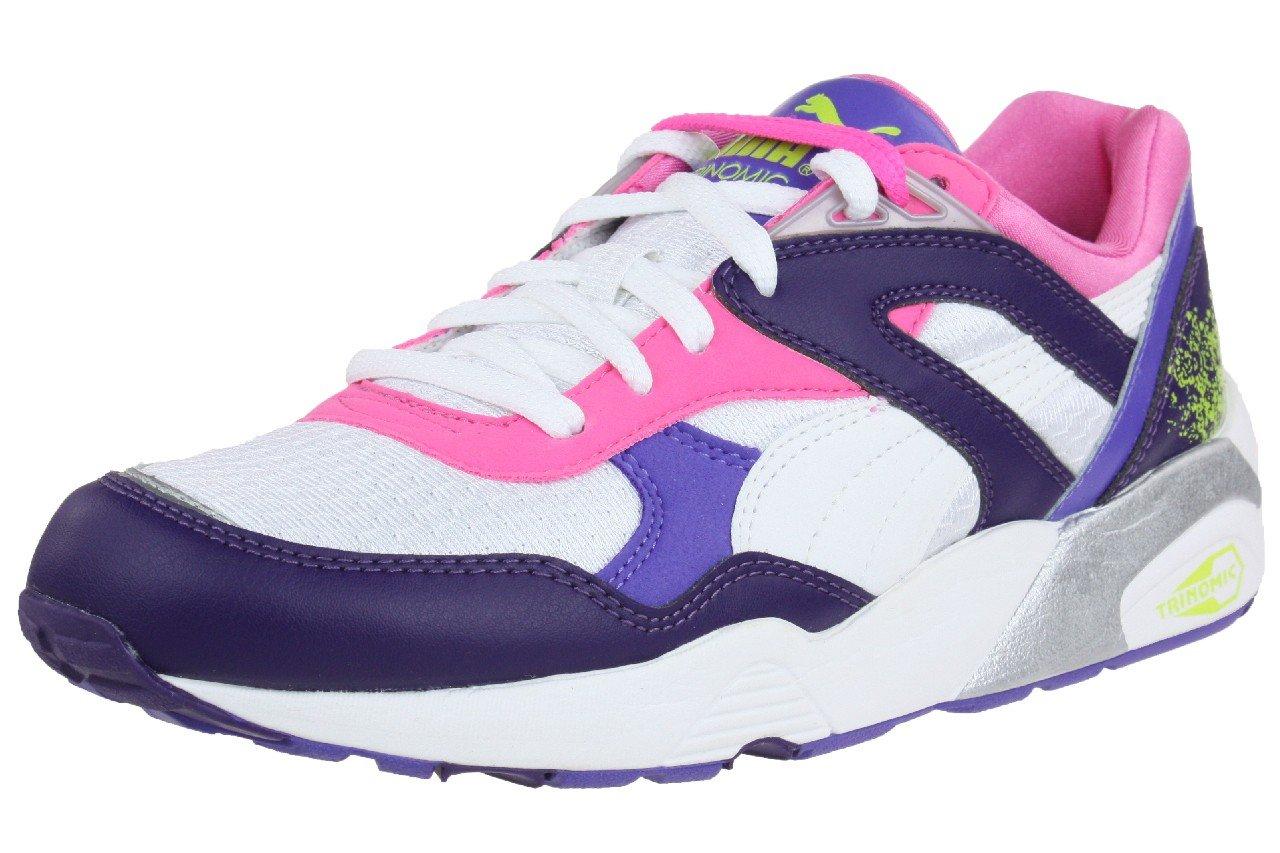 Puma Trinomic R698 Sport women Sneaker Schuhe 357331 01 weiszlig; damen  38 EU|pink / lila / wei?