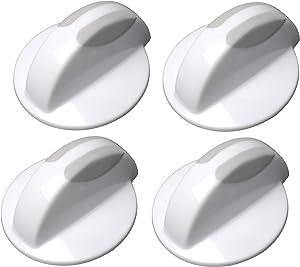 134844410 Washer/Dryer Selector Knob for Frrigi-daire Kenmore Kelvinator Westinghouse Replaces AP4339026 PS2330885 134844410 (4 Pack)
