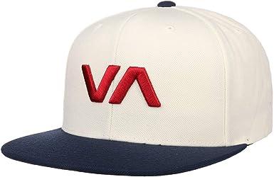 RVCA Gorra VA II Snapback de beisbol (talla única - blanco-azul ...
