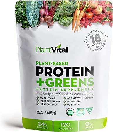 Amazon.com: PlantVital: la proteína vegetal más saludable ...