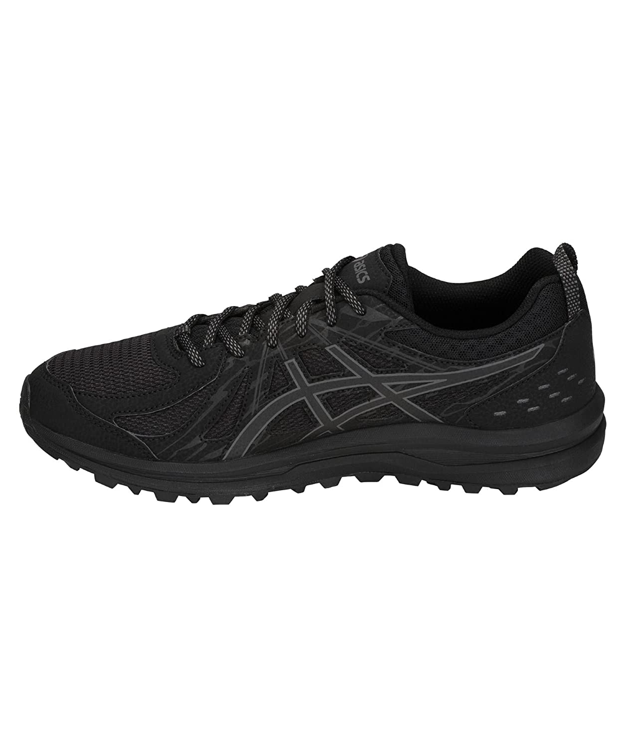 Asics Zapatillas Talla Grande 49 Frequent Trail 1011A034 001-49 USA 14 UK 13 (31 Cm.) 49|schwarz (15)