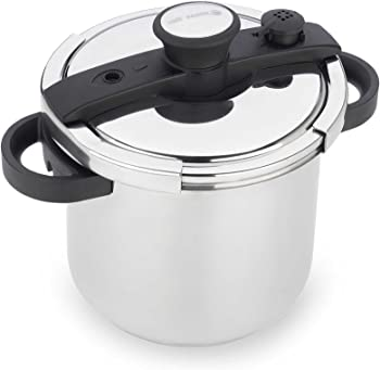 Fagor EzLock 7.4 Quart Stainless Steel Pressure Cooker