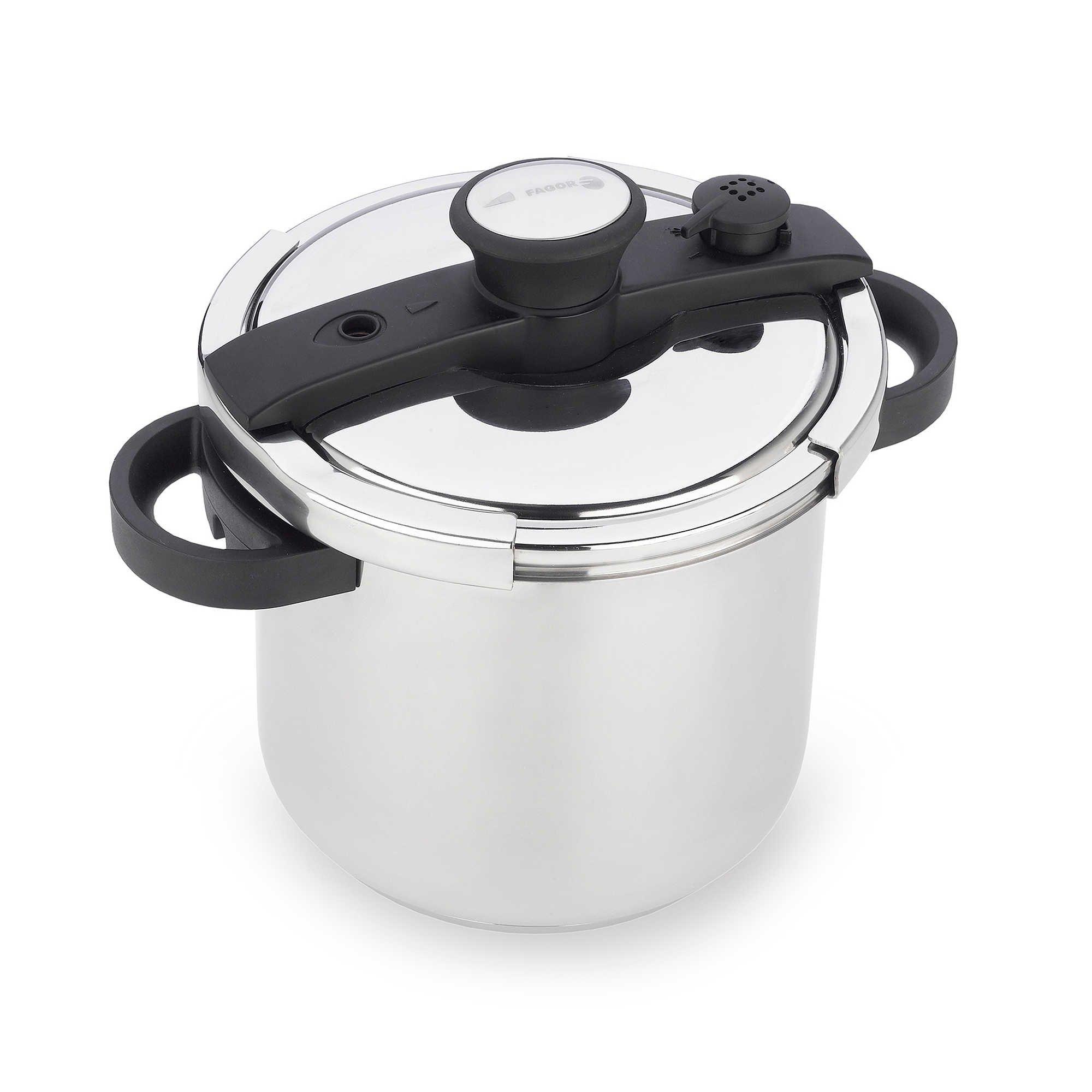 Fagor Ezlock 7.4-Quart Stainless Steel Pressure Cooker