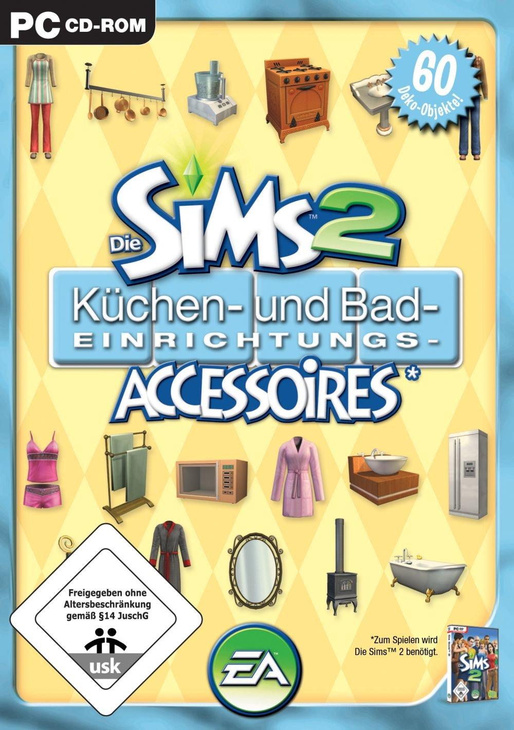 Die Sims 2 - Küchen- und Bad-Einrichtungs-Accessoires (Add-On ...