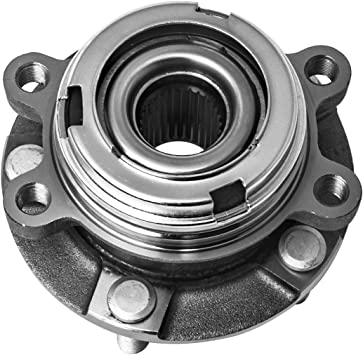 Front Wheel Bearing and Hub Assembly fits 2008 Nissan Sentra L4 2.5L