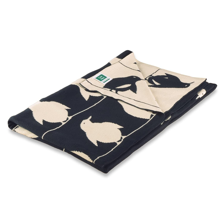 kuschelige Decke aus Baumwolle Kuscheldecke Gr/ö/ße w/ählbar casa pura Kinderdecke Dumbo mit s/ü/ßem Elefanten Motiv /Öko-Tex Zertifiziert 80x100 cm Baumwolldecke