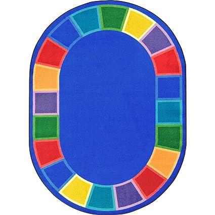 Amazon Com Joy Carpets 1897cc Color Tones Childrens Rugs Cc
