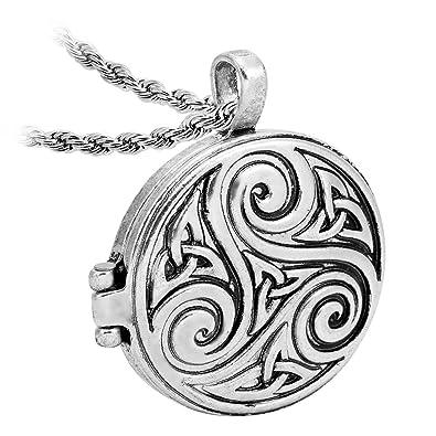 Amazon Lan27 Vintage Teen Wolf Derek Pack Celtic Knot Symbols