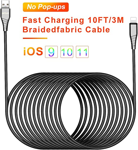 7//7 Plus Phone USB Charging Cable Charging Cord 26FT//8M Super Long Nylon Braided High Speed Connector Cable Compatible with Phone XS//XR//X 6//6 Plus and More 8//8 Plus