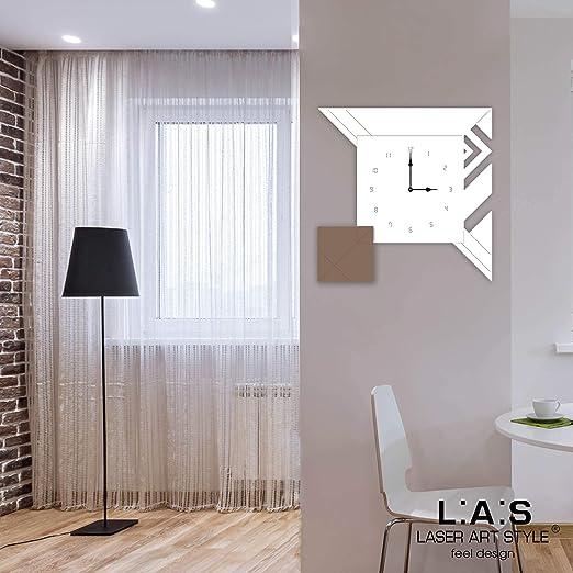 L:A:S Laser Art Style Horloge Murale Design Moderne pour ...