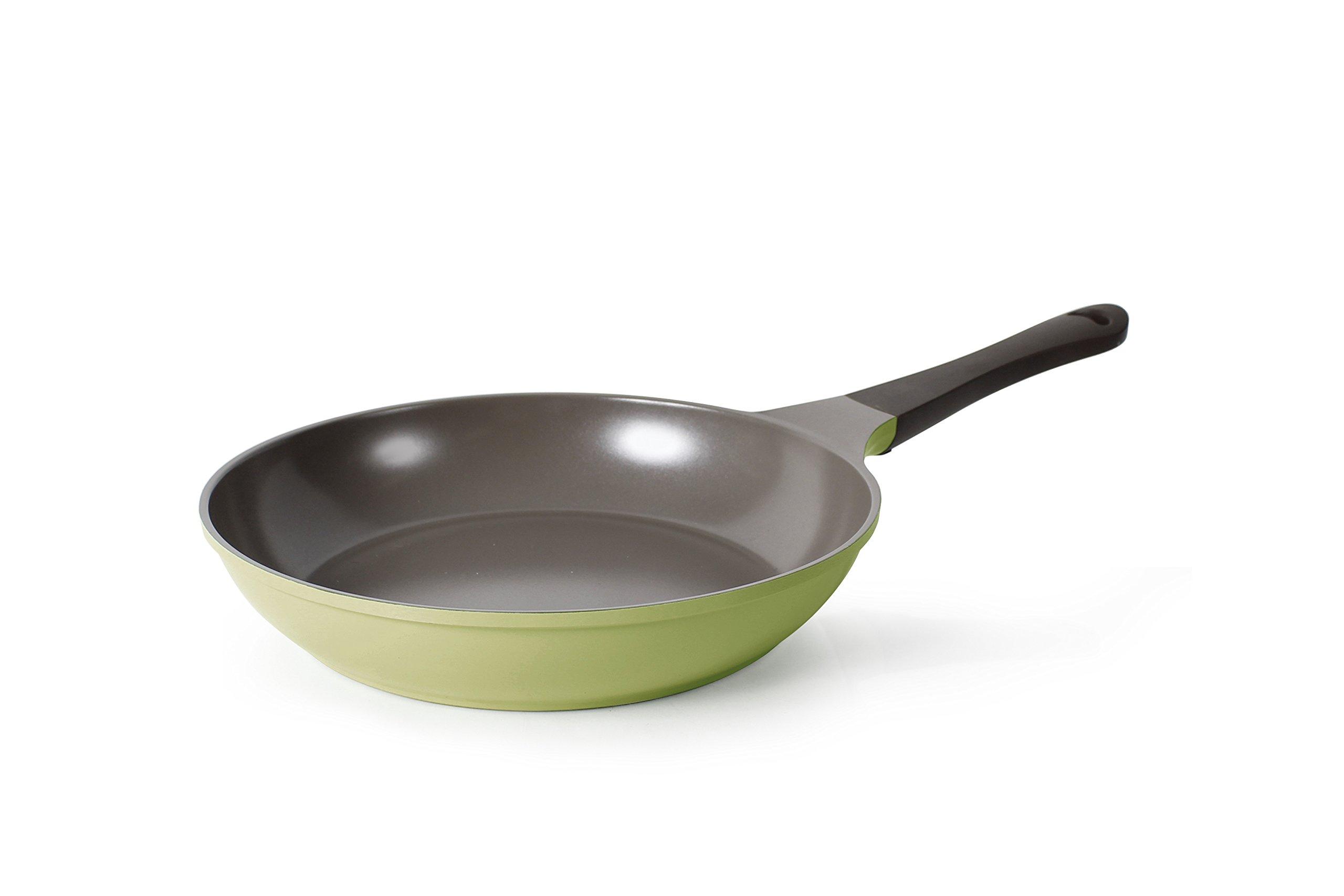 Neoflam Eela 10-Inch Frying Pan with Bakelite Handle and Ecolon Non-Stick Coating by Neoflam
