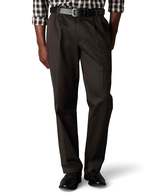 Dockers Men's Classic Fit Stretch Signature Khaki Pant-Pleated D3 Dockers Men's Bottoms