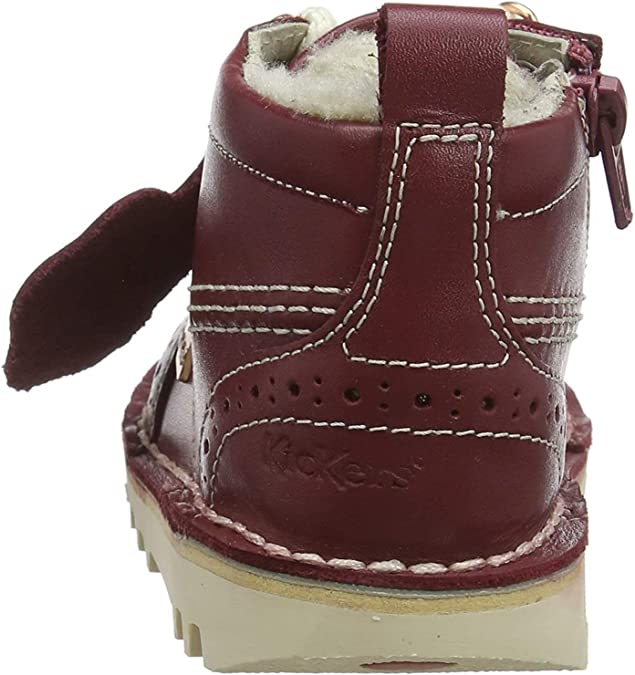 Kickers Fur Hiker Bottes B/éb/é Fille