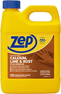 Enforcer ZUCAL32 32-Ounce Zep Calcium Lime and Rust Remover