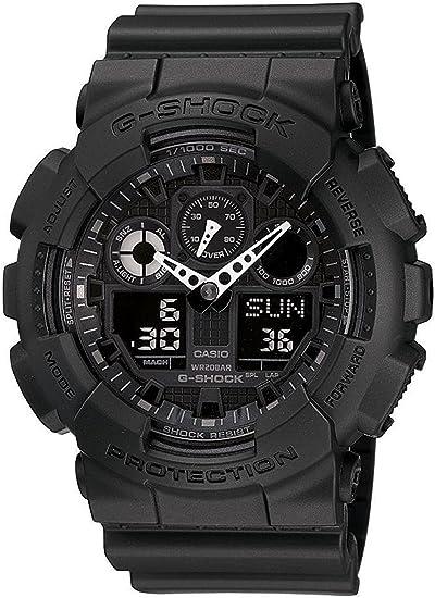[カシオ]CASIO 腕時計 G-SHOCK MATTE BLACK マットブラック GA-100-1A1 メンズ [逆輸入]
