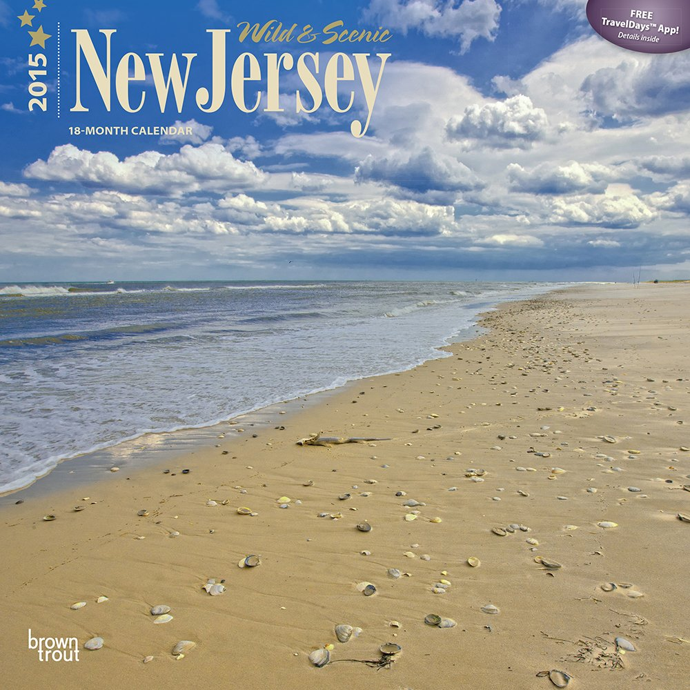 New Jersey, Wild & Scenic 2015 Square 12x12 (Multilingual Edition) pdf