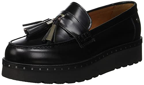 09905692ed Trussardi Jeans Mocassino Tassels with Micro Studs Loafer Donna ...