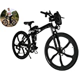 Meflying 26 Inch Foldable E-Bike Outdoor Folding Electric Mountain Bike With anti-exposure