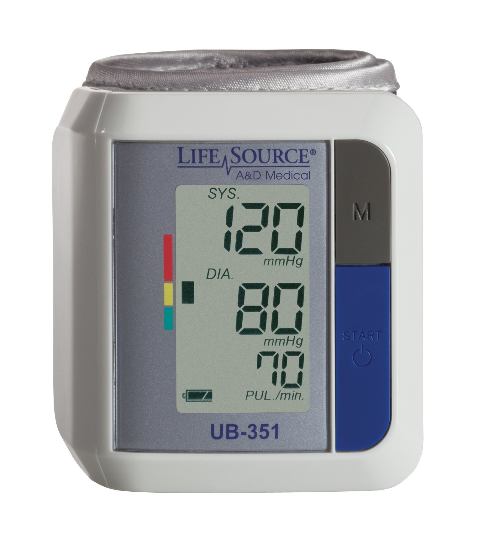 LifeSource Automatic Wrist Blood Pressure Monitor (UB-351B)