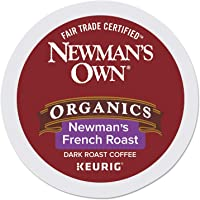 Newman's Own Organics Special Blend Decaf, Single-Serve Keurig K-Cup Pods, Dark Roast Coffee, 24 Count