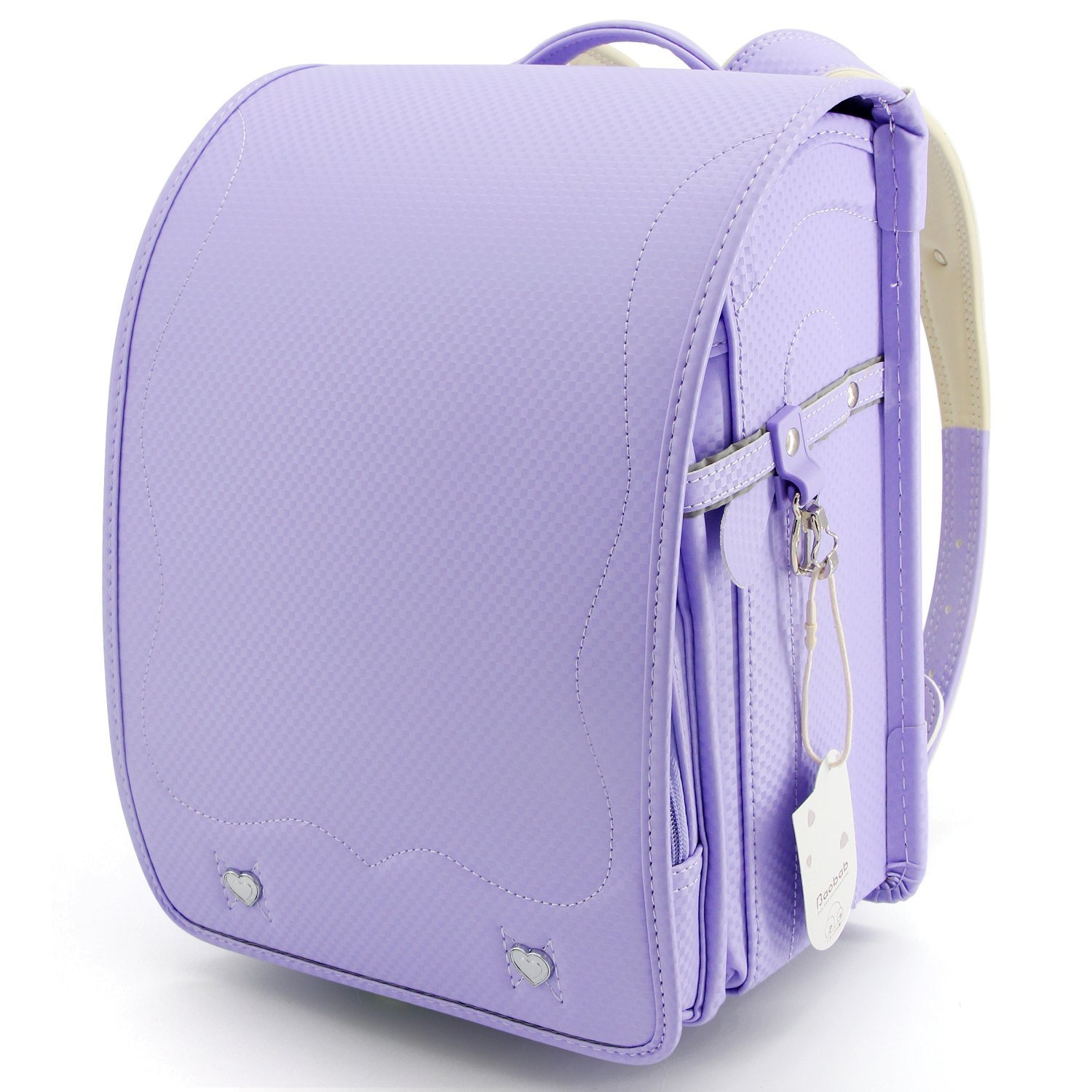 Ransel Randoseru upscale full automatic Japanese schoolbags for girls and boys purple