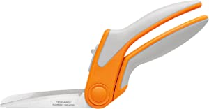 Fiskars 190850 8 Inch RazorEdge Easy Action Fabric Shears for Tabletop Cutting