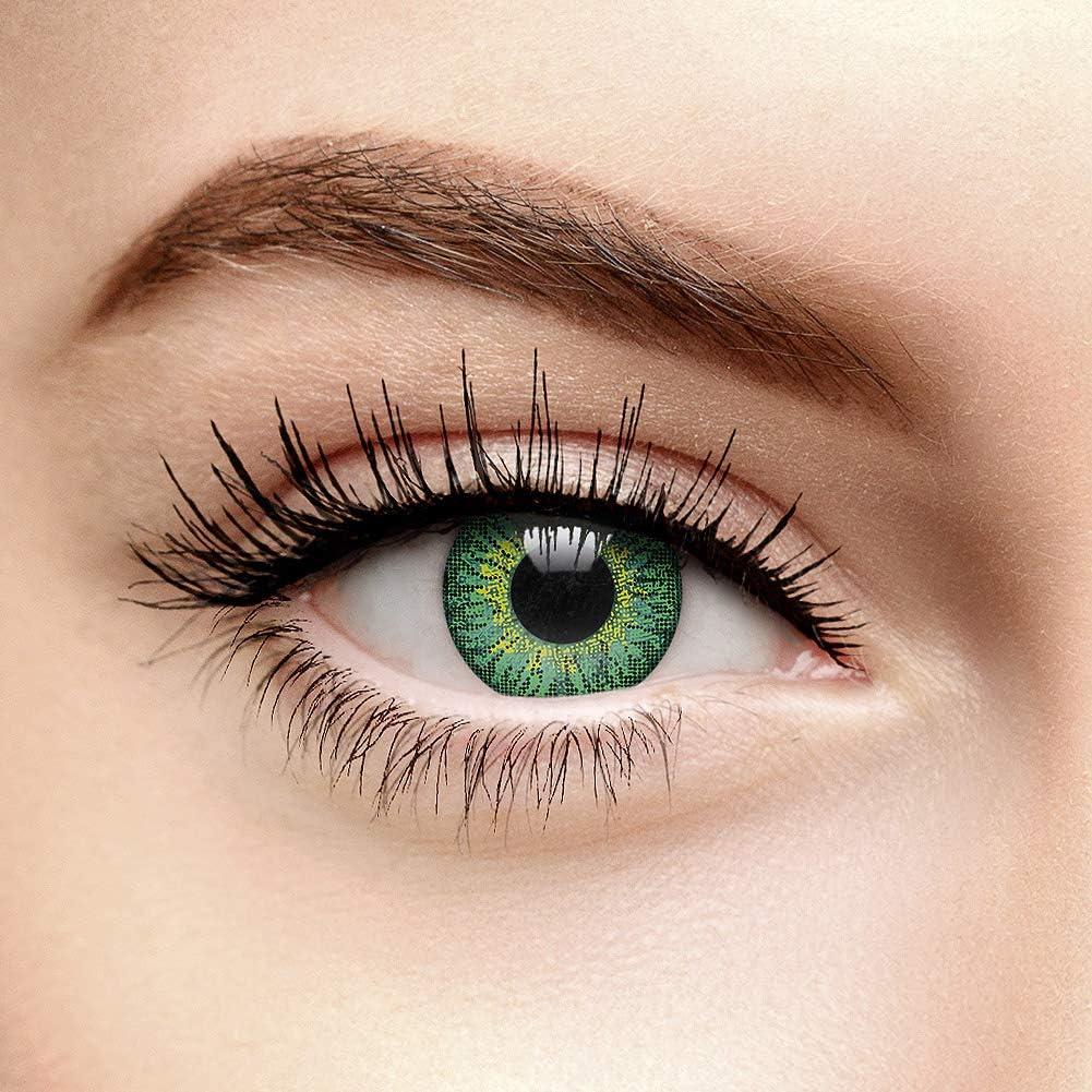 chromaview Lentillas Tritono de Color Verde Fusión (30 Días) - Sin Graduación