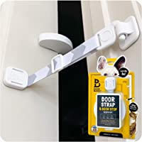 Door Buddy Door Latch Plus Door Stopper. Keep Dog Out of Litter Box and Prevent Door from Closing. This Cat Gate and Cat…