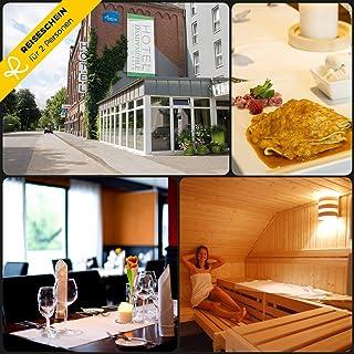 Reiseschein – 4 Giorni di Riposo per 2 in 4 * Hotel – Macinino a Vapore tra Niederrhein e Ruhrbereich – Hotelgutschein Buono Viaggio Breve Vacanza Regalo da Viaggio