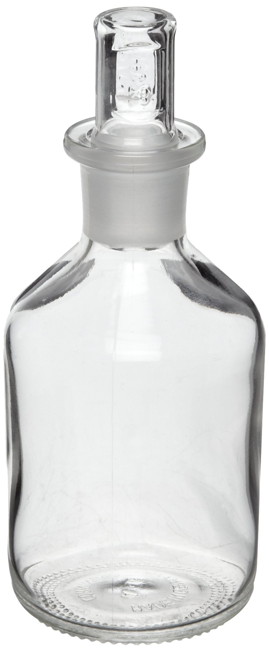 Corning Pyrex Narrow Mouth Reagent Bottle With Standard Taper Stopper, 1L (Pack of 1)